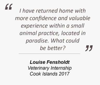 Testimonial from Louise Fensholdt