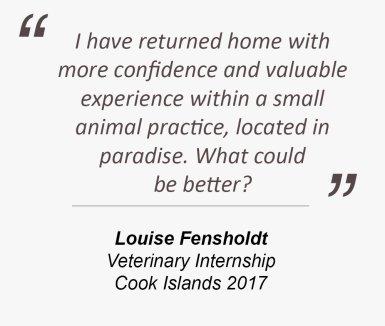Testimonial from Louise Fensholdt
