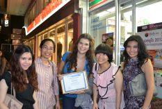 Internship in Thailand, happy interns!