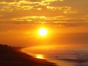 sunset Guatemala