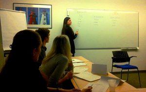 teaching in Prague