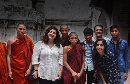 teach in Buddhist monastery