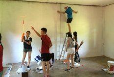 community volunteer in Laos