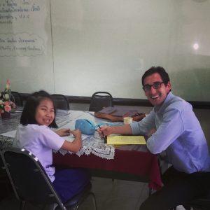 Evan Jansen paid teacher Thailan d