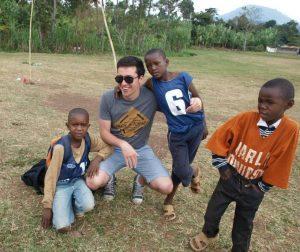 Gertjan Flo medical intern in tanzania