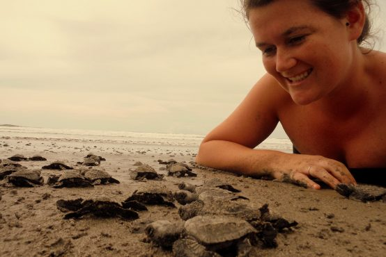 Kendra Button - Sea Turtle Research Assistant in Costa Rica