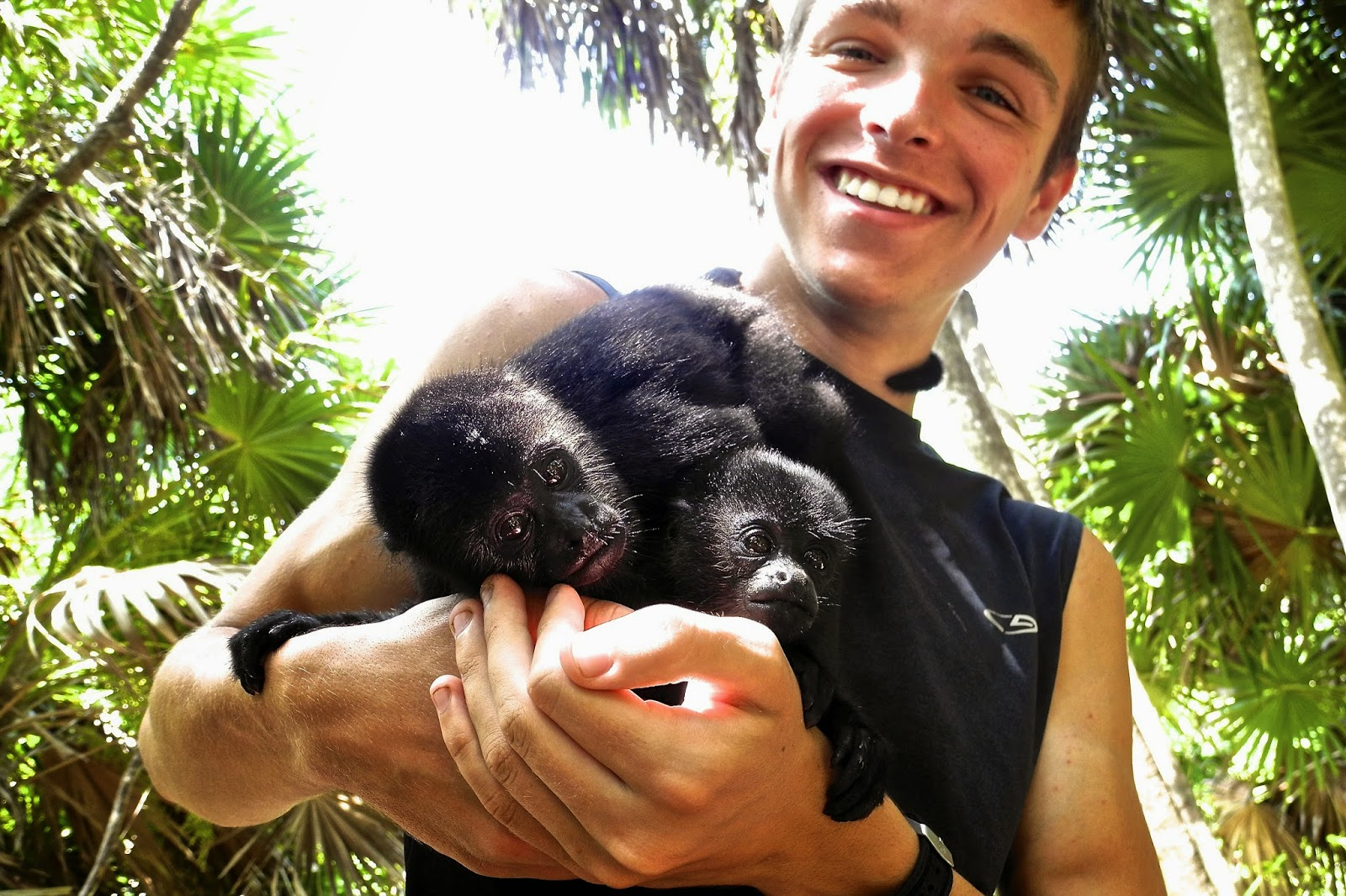 Mitch Thomas - Primate & Manatee Rehabilitation in Belize