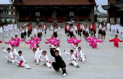 Tai Chi Training China