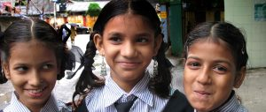 volunteer teaching India