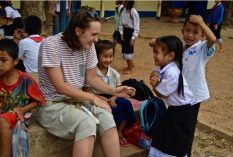 teaching in Laos