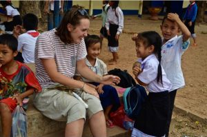 teaching in Laos