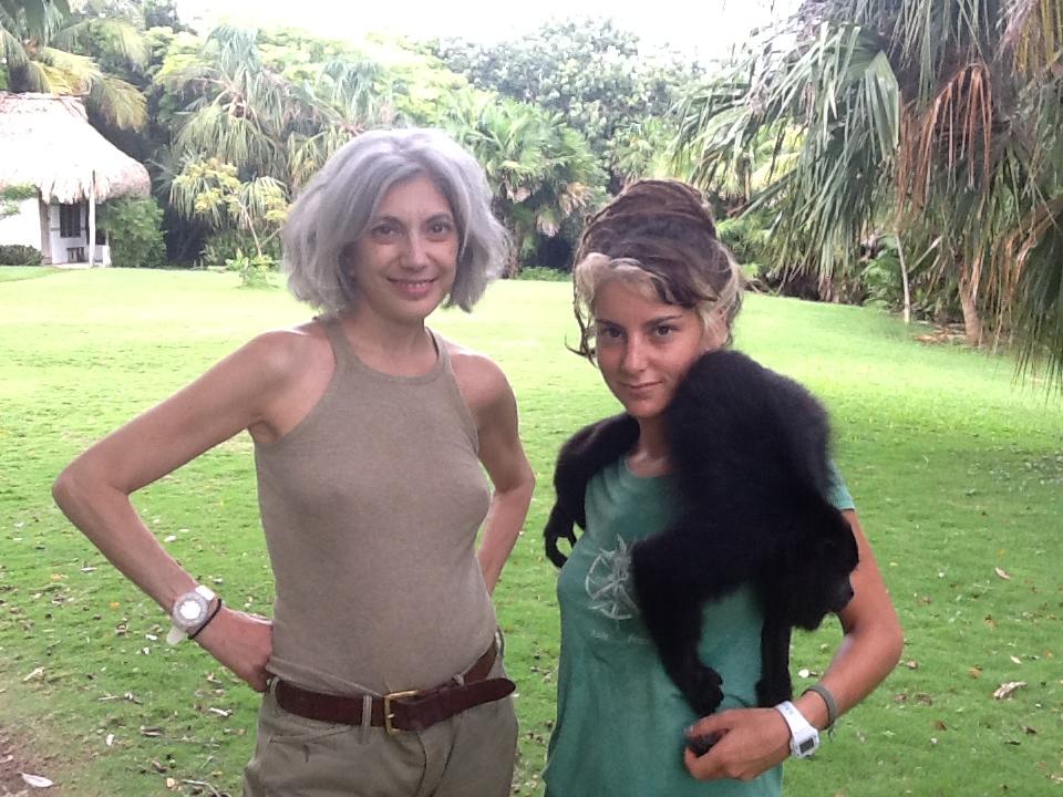 Lauren Ezersky - Primate Rehabilitation in Belize