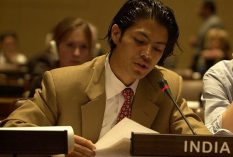 bremley speaking at the UN