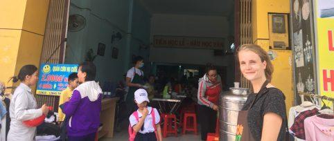 Food shop volunteer vietnam