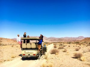 conservation expedition in Namibia