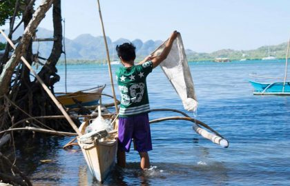Fishery project in the Philippines