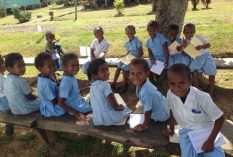 Fiji teaching volunteer