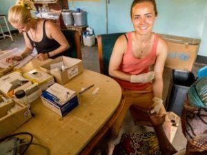Sarah Ball ngo intern in malawi