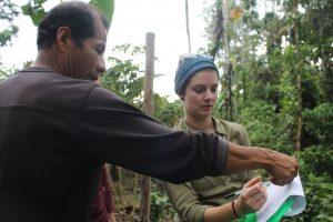 Alice hamer on the Environmental Internship in Ecuador