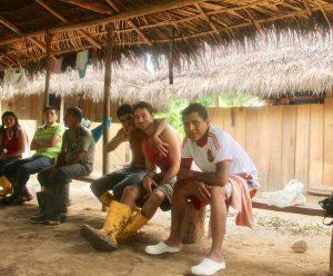 Ezra in the Amazon
