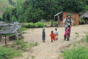 Pat Harvey in Malawi