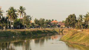 A view of Siem Reap