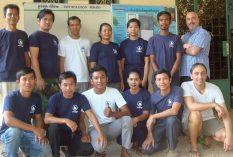 the NGO staff