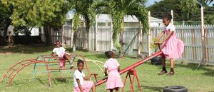 Kindergarten-teaching in Jamaica
