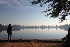 The beauty of Angkor Wat