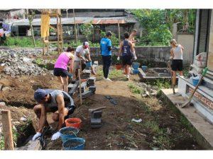 Bali construction project