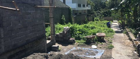 Bali construction project