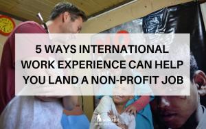 5 ways international work experience