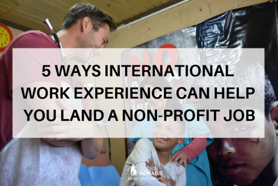 5 ways international work experience