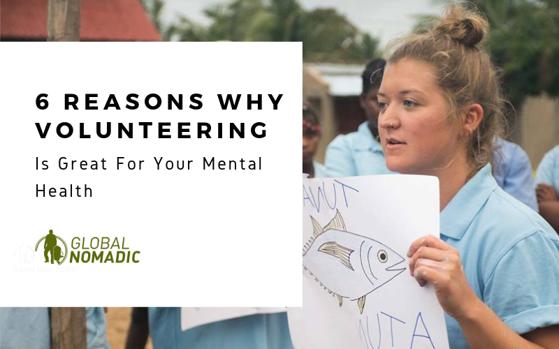 6 reasons volunteering is good for your mental health