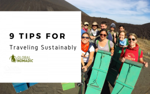 9 Tips For Traveling Sustainably