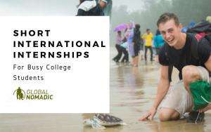 short international internships