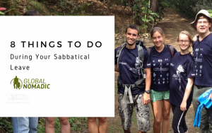 8 Things To Do During Your Sabbatical Leave